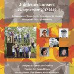 10-Års jubileumskonsert i Røhnesalen v/Tante Gerda
